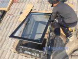 美日阳光  混凝土开天窗 从测量  制作到施工完成一体化