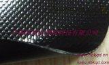 专业产销1.1mm黑色2000D涂层PVC夹网布 箱包户外蓬布专用