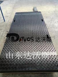 盐山租赁防滑聚乙烯铺路垫板,路基板专业租赁厂家