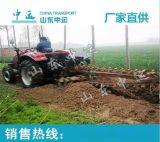 中运厂家直销 挖沟开槽设备 双链条开沟机 参数价格