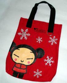 2017新春过年大红色福袋包礼品手提袋子男女无纺布袋西安定制、订做 中国风袋子