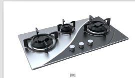 提供燃气灶外观设计、结构设计