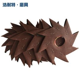 八角砂八瓣砂纸缝隙毛刺家具圆砂纸砂布木工木雕根雕抛光打磨工具