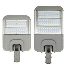 led变形金刚路灯外壳 户外压铸摸组路灯头套件贴片100W外壳套件