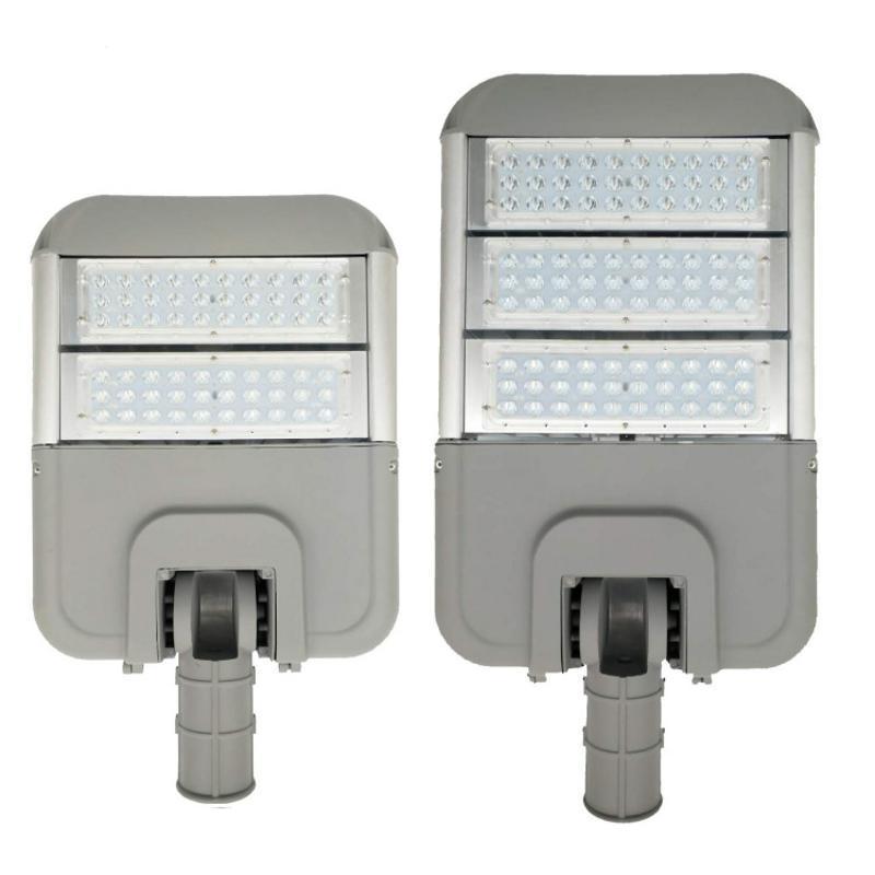 led變形金剛路燈外殼 戶外壓鑄摸組路燈頭套件貼片100W外殼套件