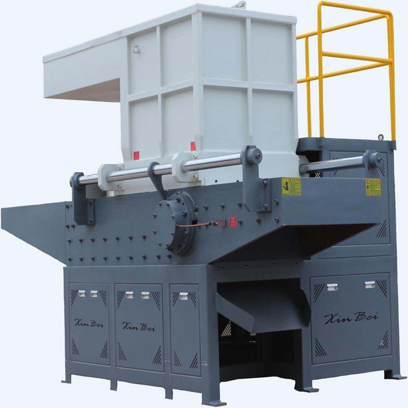 新貝機械供應  表層鍍鋁膜撕碎機  廢布化纖單軸撕碎機