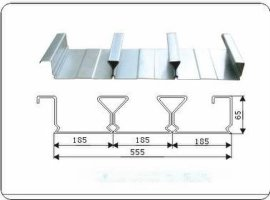 闭口式楼承板(YX65-185-555)