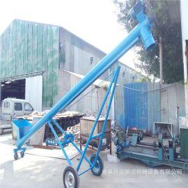 大型螺旋管物料提升机 粮食圆管递料机78