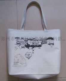 郑州帆布包定制图案 毕业设计 个性包包