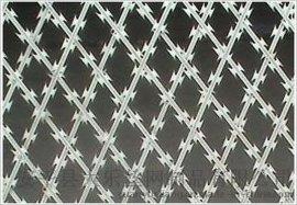 刀片刺绳防护网刺铁丝隔离网带