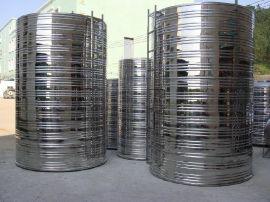 供应佛山地区金号JH-01  0.5-10T不锈钢保温水箱+太阳能保温水箱+空气能热泵配套水箱