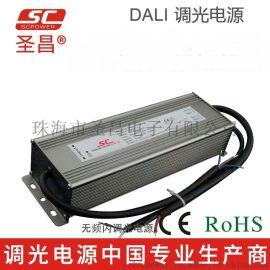 圣昌DALI恒流LED调光驱动电源200W 2500mA 2800mA 3100mA 6500mA平板灯面板灯LED调光电源