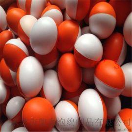 【骏泰厂家  】精品PU鹅蛋形球86*60MM PU光面球 PU弹力球