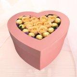 精美情人節心形禮物盒高檔禮盒 廠家專業定制手工鮮花包裝紙盒