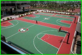 山西塑膠籃球場報價 陝西硅PU網球場