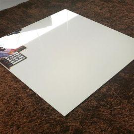 廠家直銷佛山全拋釉地磚600x600 超白瓷磚地面客廳釉面亮光防滑磚