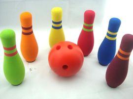 厂家直销儿童海绵玩具 批发PU海绵保龄球长期供应玩具