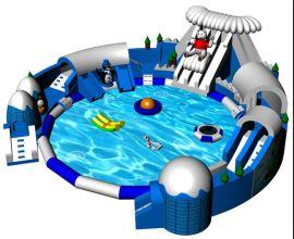 江哈尔滨大型支架游泳池定做水上乐园游乐设备