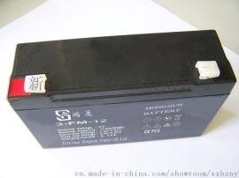 鸿晟能源12V14AH铅酸免维护蓄电池