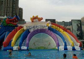 甘肃兰州支架游泳池厂家定做小投资大回报