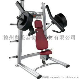 健身房减肥训练肌肉下斜推举训练器