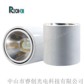 睿创光电明装LED筒灯,5W白色筒灯