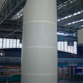 4D手感包柱铝单板 艺术包柱铝单板 烤漆包柱铝单板