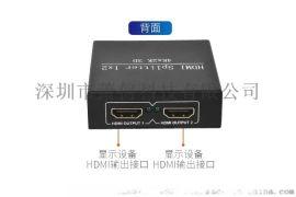 境外销售HDMI分配器1进2出高清4K一分二