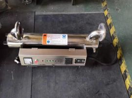 供应上海船舶水处理不锈钢水箱紫外线消毒器
