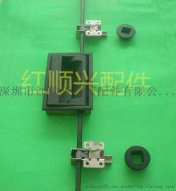 试验箱配件门锁烘烤箱暗锁竖锁HS-150-1