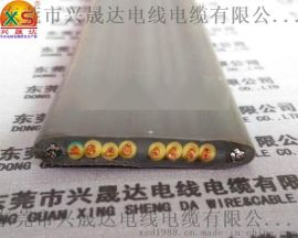 兴晟达TVVBG8芯0.75平方扁线 扁平电缆 电梯电缆