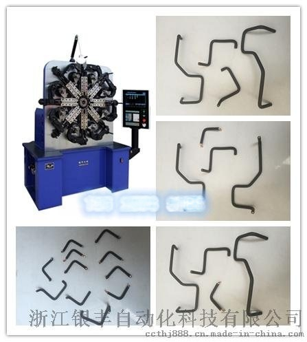 数控电线折弯机,电脑电线折弯设备,电脑控制尺寸,可生产各种形状折弯产品。