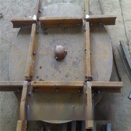 轨道转盘轨道工具转盘矿用转盘(1.6米*20mm)15KG钢轨用