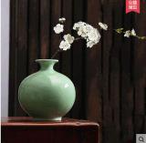 景德镇陶瓷器摆件现代新中式客厅家居装饰工艺品禅意插花仿古花瓶