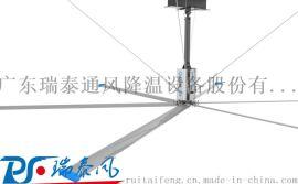 广东瑞泰——欧比特工业大风扇专业解决厂房降温难题