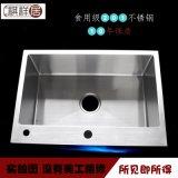 手工水槽單槽201不鏽鋼廚房洗菜盆不鏽鋼手工盆廠家