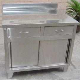 西安工厂批发不锈钢双开门柜子直销