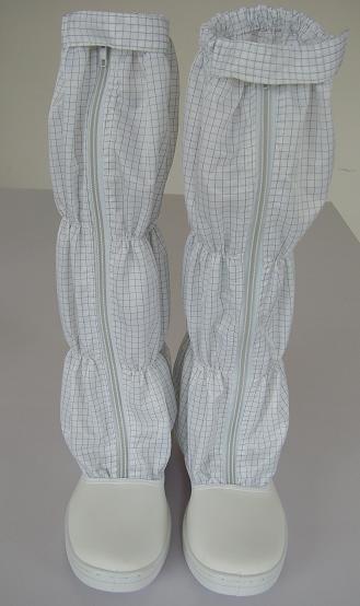防靜電皮革高筒鞋(THS-E623)