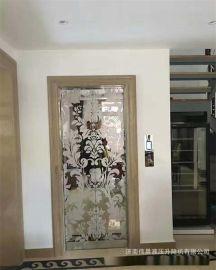 定制  液壓別墅電梯  室內安裝