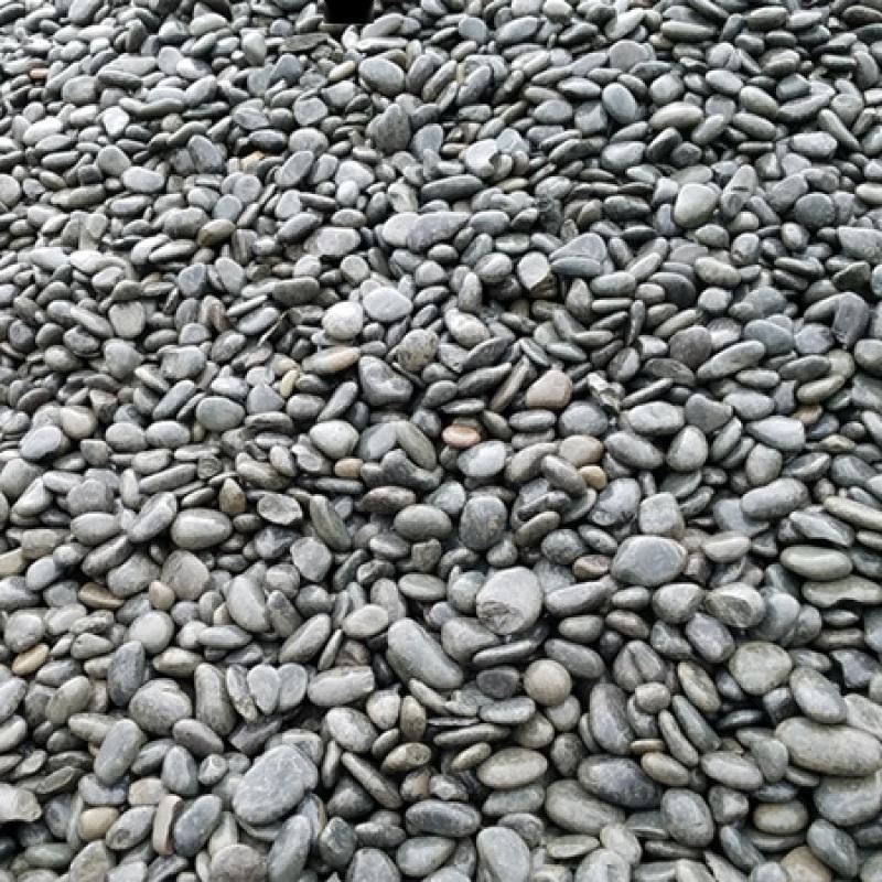 黑色鹅卵石多少钱一吨_20-30#黑卵石_渝荣顺!