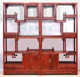 西安博古架图片、中式多宝阁、红木博古架、实木多宝阁