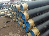 聚氨酯预制直埋保温管 塑套钢聚氨酯保温管