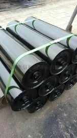 皮带机 专用托辊 黑色碳钢材质