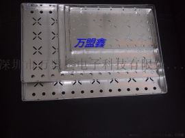 LED大功率料盘 烤箱周转盘 防静电料盒 邦定铝盘36X25CM