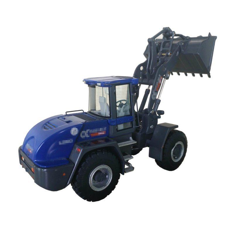 高仿真合金挖掘机模型 1: 18桐桐盒装建筑工程玩具车摆件直销批发