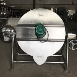 虾皮子煮锅夹层锅  虾皮子煮锅生产烘干流水线