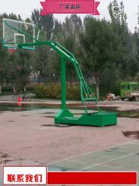 固定篮球架奥   器材 比赛篮球架价