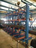 鋼管分層存放架 伸縮懸臂式鋼管貨架