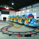 戶外遊樂電動小火車就選軌道小火車
