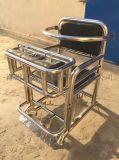 [鑫盾安防]铁质模板审讯椅 软包不锈钢审讯桌椅XD5